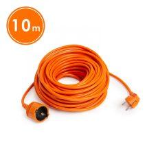 Hálózati lengő hosszabító 10m narancssárga