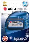 Agfaphoto alkáli 9V elem B1