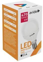Avide LED izzó 6W E14 G45 Light