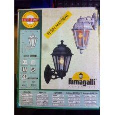 Kültéri fali lámpa, fehér és opál színben