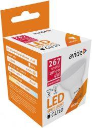 Avide LED Spot Alu+plastic 4W GU10 110° NW 4000K