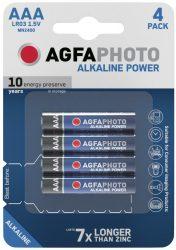 AgfaPhoto Alkáli Mikro Elem AAA B4