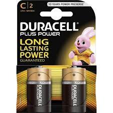 Duracell basic alkáli baby elem C B2