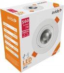Avide LED beépíthető spot 38* kerek 7W