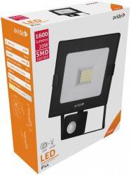 Avide LED SMD reflektor mozgásérzékelővel 20W