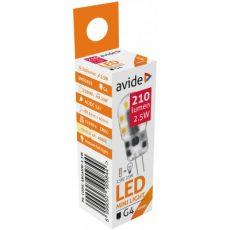 Avide LED 2.5W G4 160° NW 4000K