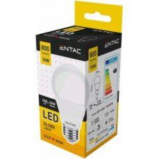 ENTAC LED GLOBE E27 10W 3000K