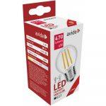 LED filament mini globe 4W E27 2700K