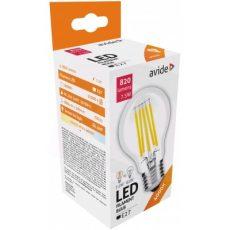Avide LED Filament Globe 8W E27 360° WW 2700K