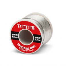 Forrasztó ón 1,5mm 0,25Kg