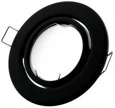GU10 Keret Normál Forgatható Fekete