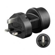 Földelt utazó adapter, GS-UK