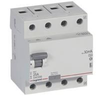 Legrand áramvédő 4P 25A 30mA