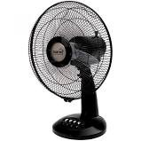 Asztali ventilátor,30cm,fekete