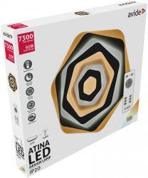Avide Design Mennyezeti Lámpa Atina 92W(46+46) RF Távirányítóval