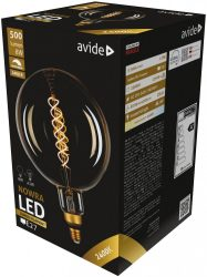 Avide LED Soft Filament G80 5W E27