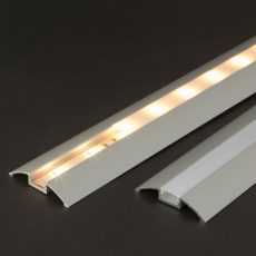 LED alumínium profil takaró búra