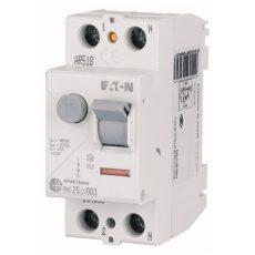 Eaton áram-védőkapcsoló 2P 40A